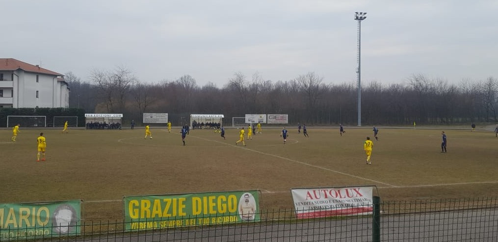 23^ giornata – Olgiatese primo stop stagionale, impatta la Solbiatese, ok Lonate e Beata Giuliana