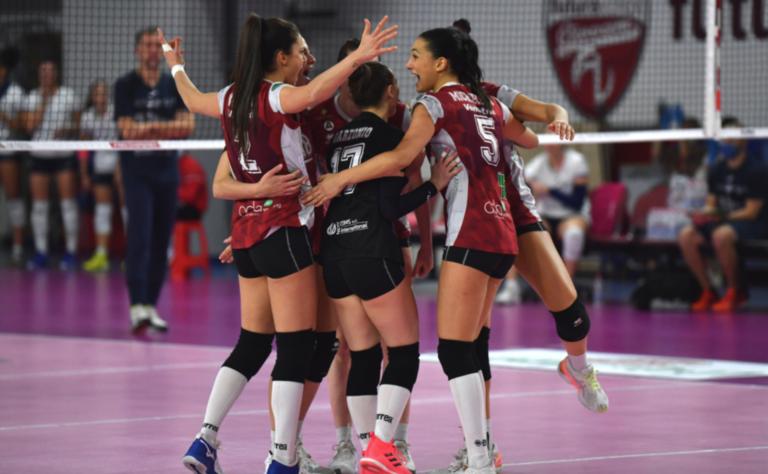 La Futura Volley vince e convince: 3-1 al Cus Torino
