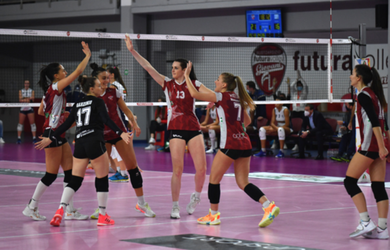 Futura Volley, 3 punti d'oro contro il Club Italia