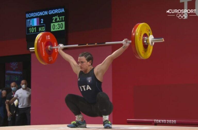 Olimpiadi – Impresa Giorgia Bordignon: si tinge d'argento sollevando 232 kg