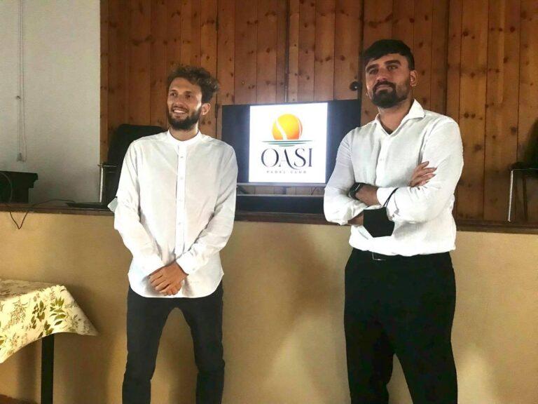 Il Padel sbarca a Lissago grazie a due giovani varesini e…Luis Scola