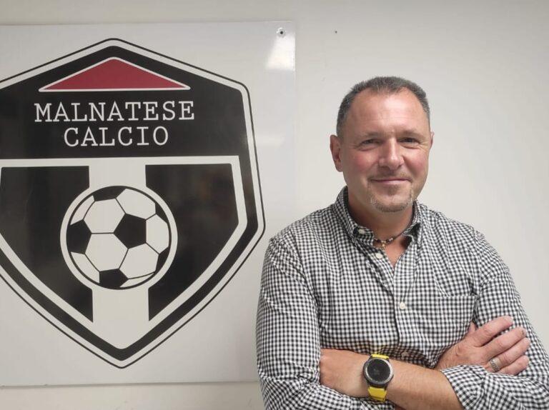 """Malnatese, Davide Aimetti: """"Vogliamo creare uomini con dei valori e non solo calciatori"""""""