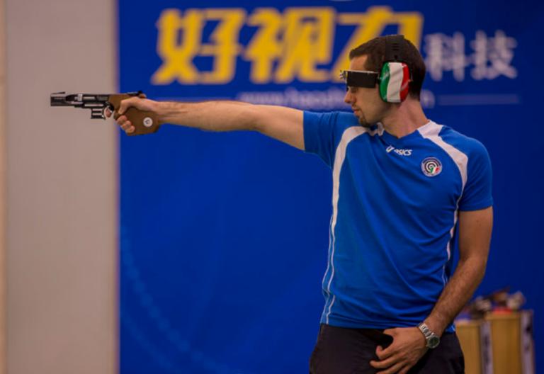 Olimpiadi, pistola automatica 25m: sfuma il sogno finale per Mazzetti