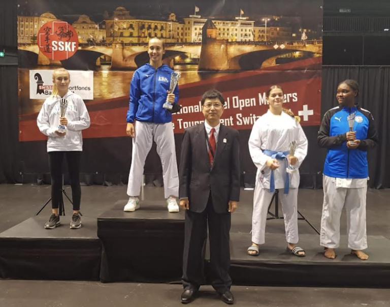 Karate – Secondo posto assoluto per Alessandra Bossi all'open di Basilea