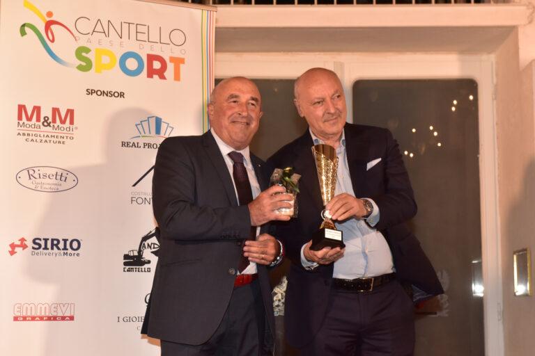 """Da Marotta a Lucia Bosetti: sfilata di vip al premio Cantello paese dello Sport. Catella: """"Emozione unica"""""""