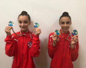 Incetta di medaglie per la Virtus Gallarate ai Campionati Gold e di Specialità di ginnastica ritmica